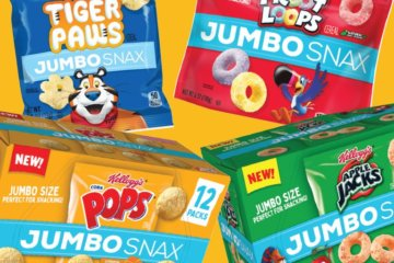 Kellogg's Is Releasing All Your Favorite Cereal In Jumbo Snax Packs