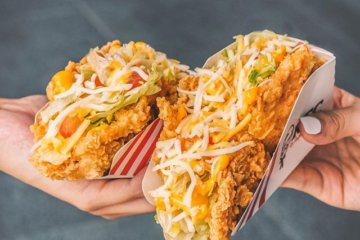 KFC Is Selling Tacos That Use Fried Chicken Shells For The Ultimate Junk Food Treat