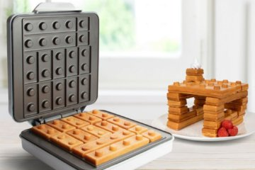 This Lego Waffle Maker Makes It Cool To Play With Your Food