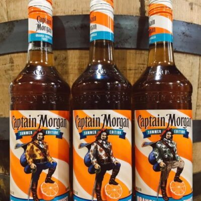 Captain Morgan Has Released An Orange Vanilla Twist Rum That's Good Enough To Drink On The Rocks
