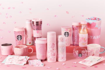 Starbucks Has A New Cherry Blossom Collection And It's Beautiful