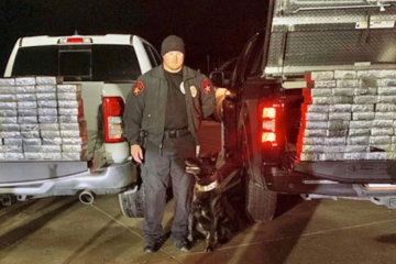 Police Dog Sniffs Out $1.2 Million Worth Of Meth From Tractor-Trailer