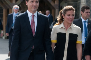 Sophie Grégoire Trudeau, Wife Of Canadian Prime Minister Justin Trudeau, Tests Positive For Coronavirus