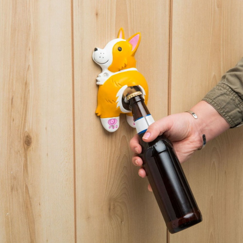 This Corgi Bottle Opener Will Make Getting Tipsy Super Cute