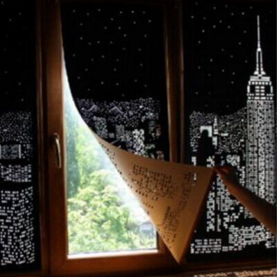 These Blackout Curtains Turn Your Windows Into Beautiful City Skylines