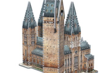 These 3D 'Harry Potter' Puzzles Let You Build Hogwarts' Great Hall And Astronomy Tower