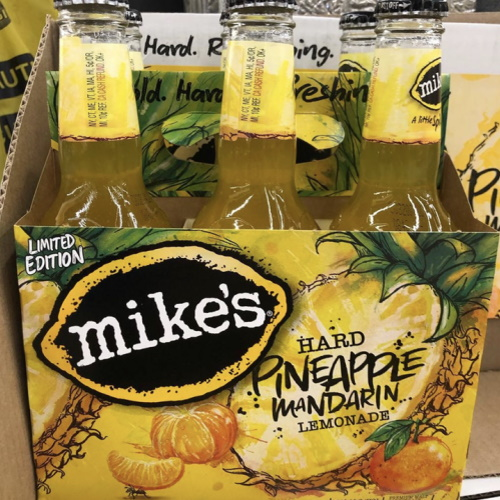 Mike's Hard Lemonade Is Releasing A Pineapple Mandarin Flavor But Hurry, It's Limited-Edition!
