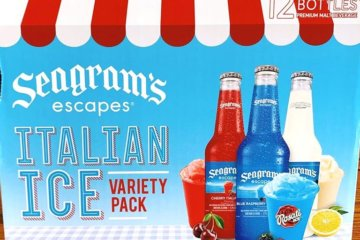Seagram's Escapes Has An Italian Ice Variety Pack That Will Bring Summer To Your Spring