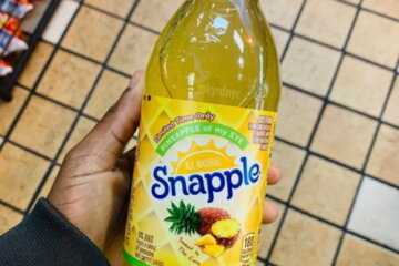 Snapple Has A New Pineapple Flavor That Tastes Like A Tropical Vacation In A Bottle