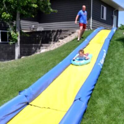 Target Is Selling A 20-Foot Water Slide To Turn Your Back Yard Into An Amusement Park