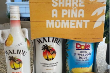 Malibu Rum Has Gift Packs That Include Dole Pineapple Juice For All Your Piña Colada Needs
