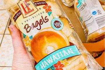 Aldi Is Selling Hawaiian Sweet Bread Bagels And Breakfast Just Got So Much Better