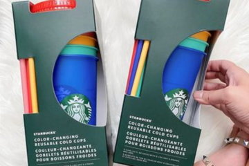 Starbucks Is Selling Color-Changing Reusable Cups For Your Summer Beverage Needs