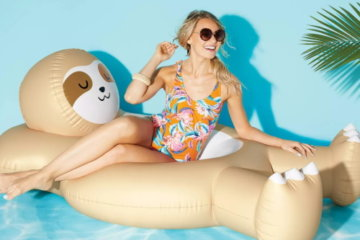 Target Is Selling Giant Sloth And Llama Pool Floats For Maximum Summer Fun