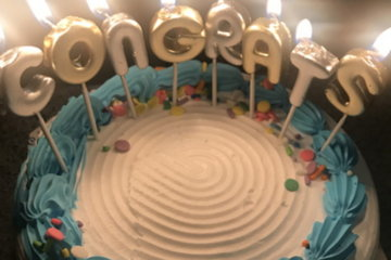 Guy Buys Girlfriend A Congratulations Cake For Farting In Front Of Him For The First Time