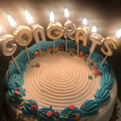 Astounding Guy Buys Girlfriend A Congratulations Cake For Farting In Front Of Him Funny Birthday Cards Online Alyptdamsfinfo
