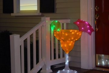 This 3-Foot Tall Margarita Light Is A Boozy Patio Decoration Unlike Any Other