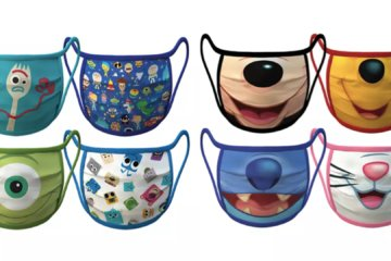 Disney Releases Cloth Face Masks With Your Favorite Characters On Them