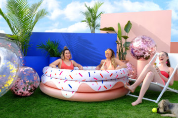 Target Is Selling Inflatable Swimming Pools That Can Fit 3 Adults