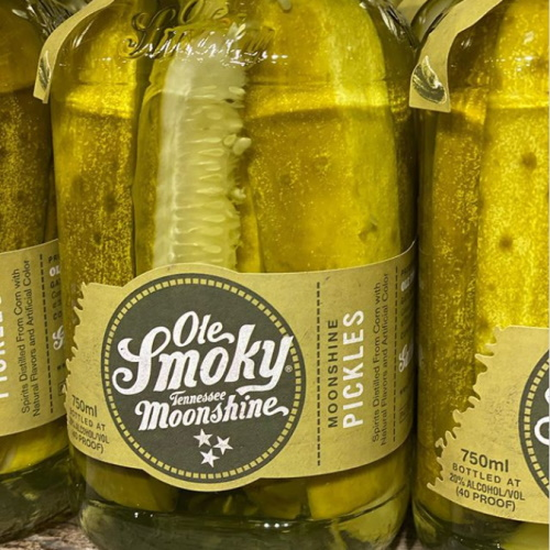 Dill Pickle Moonshine Exists Because Only Alcohol Could Make This Savory Snack Better