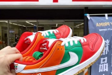 7-Eleven And Nike Collaborated On A Pair Of Sneakers And People Are Losing It