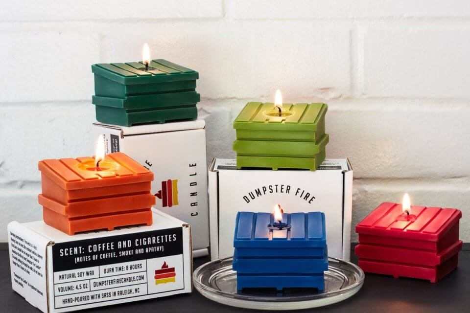 This Dumpster Fire Candle Is The Perfect Symbol Of 2020