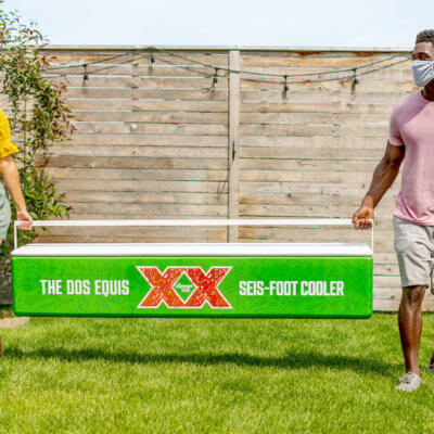 Dos Equis Released 'Seis-Foot Coolers' For Social Distancing