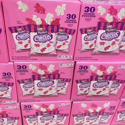 Costco Is Selling A 30-Pack Box Of Mother's Circus Animal Cookies For So Much Snacking Fun