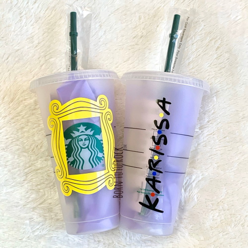 This 'Friends'-Themed Starbucks Cold Cup Will Make You Feel Like Part Of The Gang