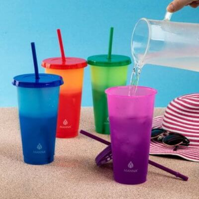 Costco Is Selling A Set Of Color-Changing Cold Cups For All Your Summer Drinks