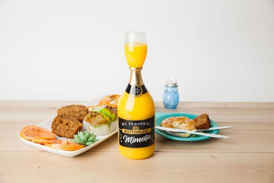 This Bottomless Mimosa Glass Holds 8 Servings In One For The Booziest Brunch Ever