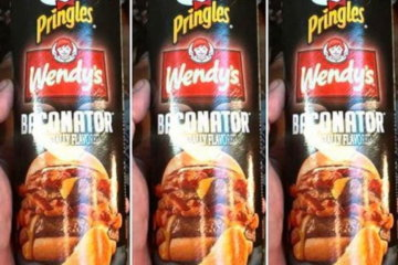Pringles And Wendy's Have Teamed Up To Make Baconator Chips