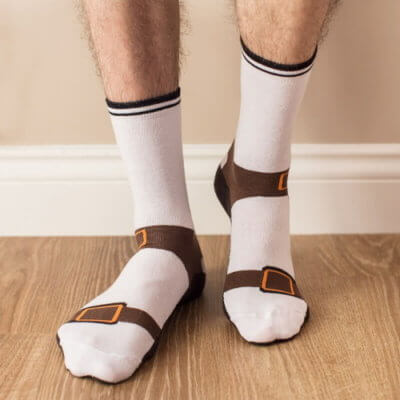 Sandal Socks Are Perfect For People Who Love The Ultra-Casual Look