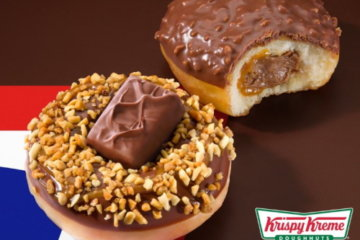 Krispy Kreme Has 2 New Snickers Donuts That You'll Want To Devour Immediately