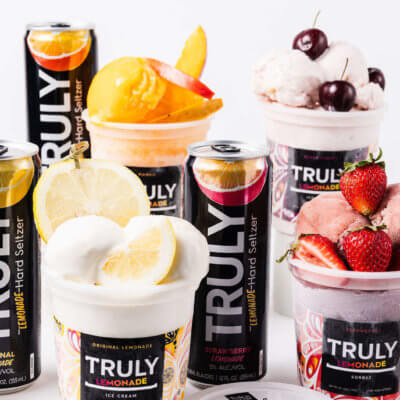 Truly And Tipsy Scoop Teamed Up For A Line Of Hard Seltzer Ice Cream