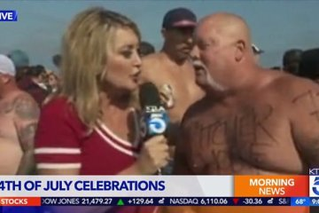 Reporter Hit By Projectile Vomit Live On Air During 4th Of July Party