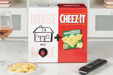 These Cheez-Its Come With Built-In Boxed Wine For The Ultimate Snacking Experience