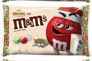 Sugar Cookie M&M's Are Coming This Christmas So Hurry Up, December