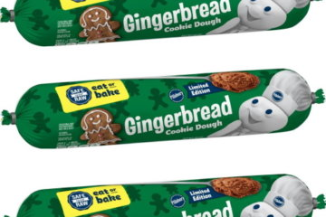 Pillsbury Is Bringing Out Gingerbread Cookie Dough That You Can Eat Straight From The Package