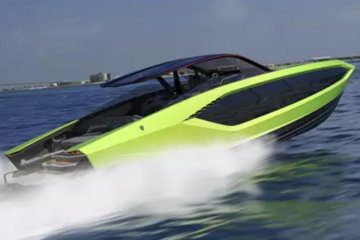 Lamborghini Has Created A $3.4 Million Yacht To Bring The Classic Car To The Water
