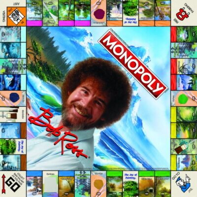 This Bob Ross Version Of Monopoly Is The Most Relaxing Game You'll Ever Play