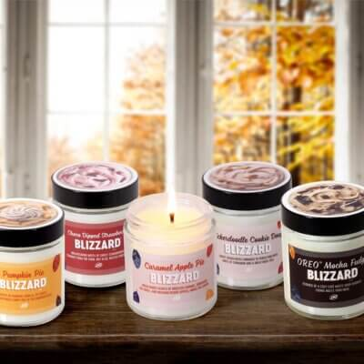 Dairy Queen Released A Fall Candle Collection Inspired By Blizzards