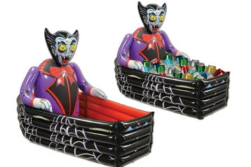This Inflatable Vampire Coffin Cooler Will Let Your Halloween Drinks RIP