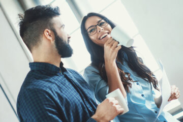 How To Tell If A Guy You Work With Is Into You Romantically