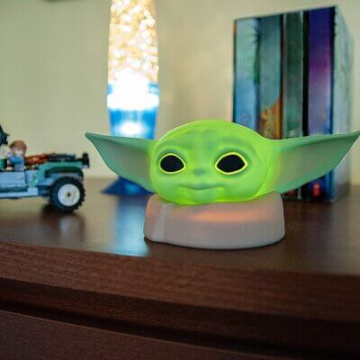 This Baby Yoda Night Light Will Soothe You To Sleep In The Cutest Way