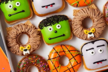 Krispy Kreme Is Releasing Monster Donuts For Halloween And They're So Fun!