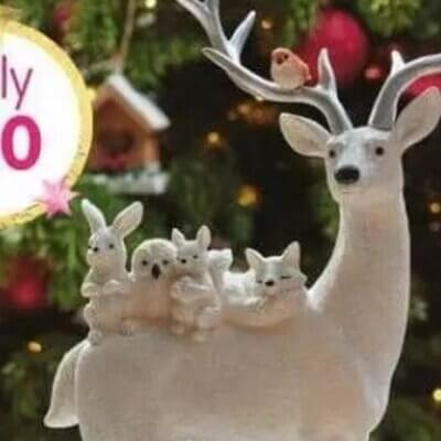 Woman Shocked To Discover Lewd Detail On 'Cute' Reindeer Ornament
