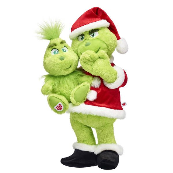 Build-A-Bear's New Grinch Collection Will Make Your Heart Grow Three Sizes