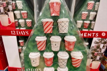 Costco's '12 Days Of Cocoa' Gift Set Is Full Of Mini To-Go Cups Of Different Hot Chocolate Flavors