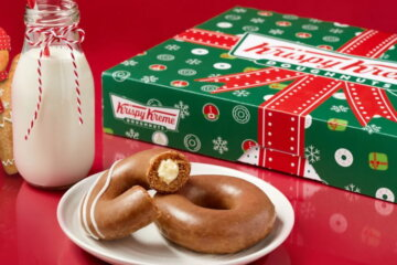 Krispy Kreme Is Bring Back Its Gingerbread Donuts Just In Time For Christmas